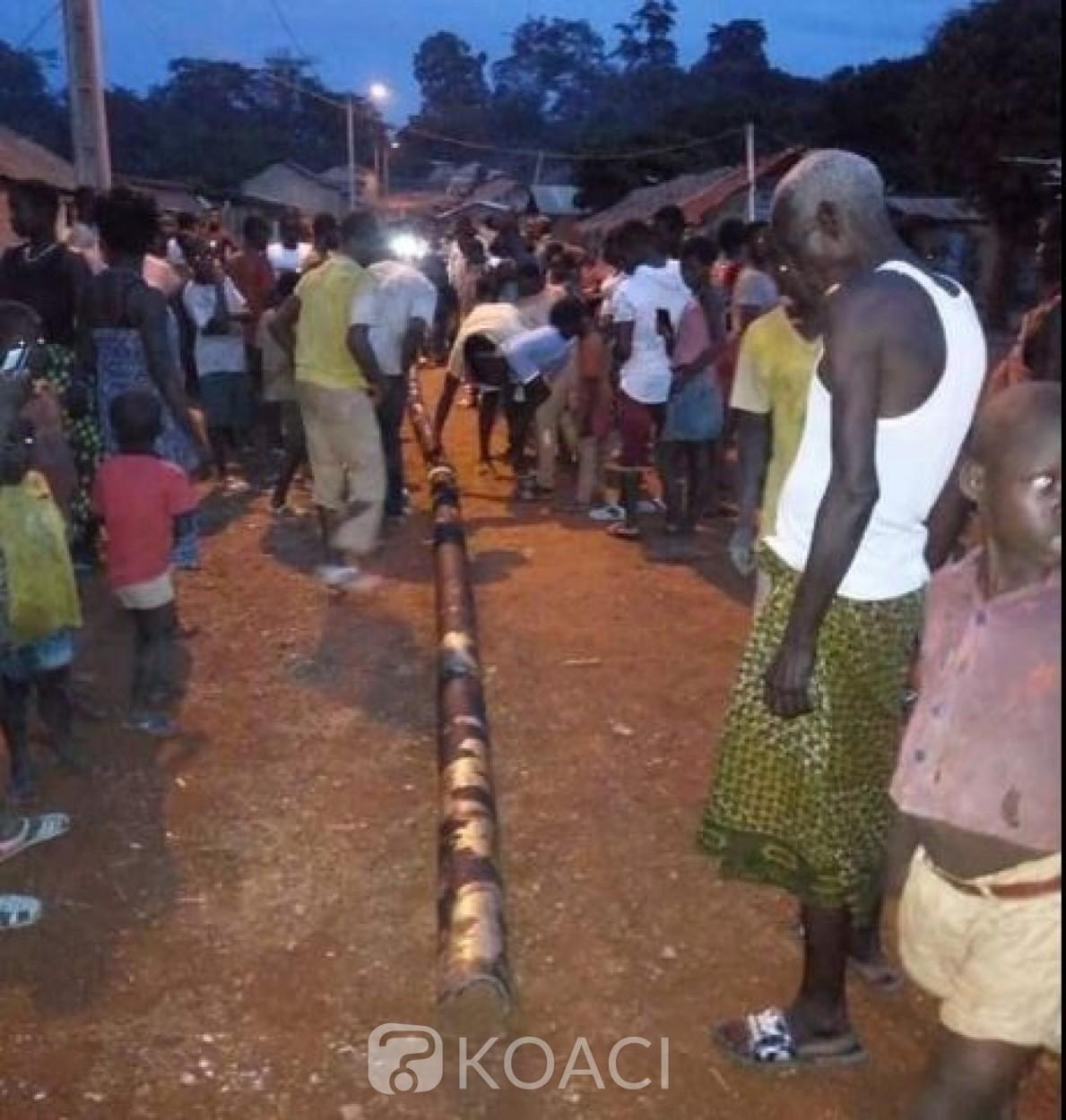 Côte d'Ivoire : Débris métalliques tombés dans des localités du centre, la Chine va porter assistance pour identifier les objets