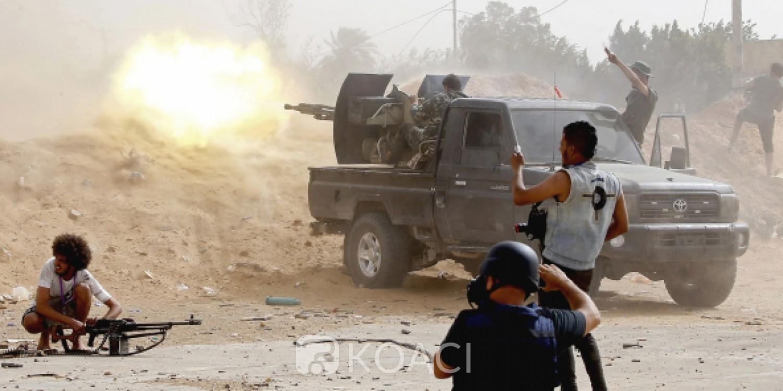Libye : Le GNA annonce avoir arraché une base aérienne aux mains des forces d'Haftar