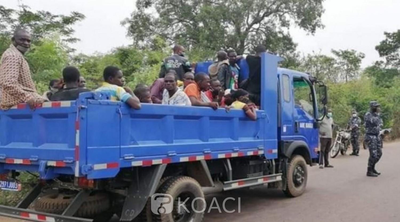 Côte d'Ivoire : À Ouangolo, des clandestins en provenance du Burkina refoulés