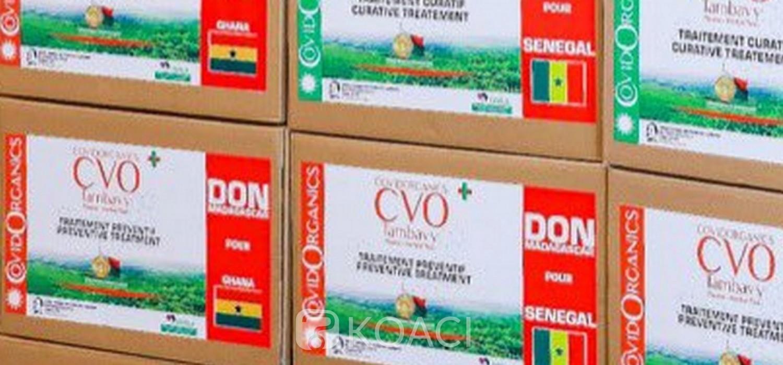 Ghana-Madagascar : Arrivée à Accra et test pour le Covid-Organics