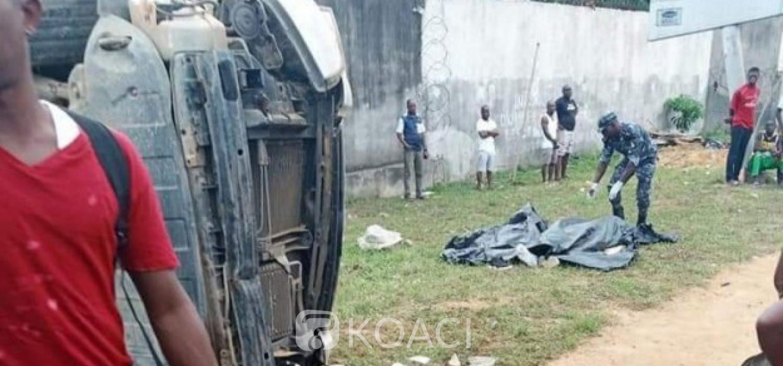 Côte d'Ivoire : Drame de la route, un chauffard tue une famille à Cocody et s'en sort indemne