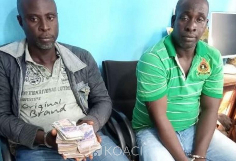 Côte d'Ivoire : Mandaté par son patron, il simule un braquage  afin de garder par devers lui la somme de huit millions de FCFA