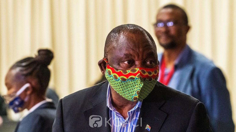 Afrique du Sud : Covid19 , Cyril Ramaphosa annonce la levée du  couvre- feu et la vente d'alcool à compter du 1er Juin