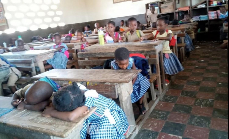 Côte d'Ivoire : Reprise des cours, les enfants désormais soumis à deux jours de travail, gel hydro-alcoolique éxigé par endroit