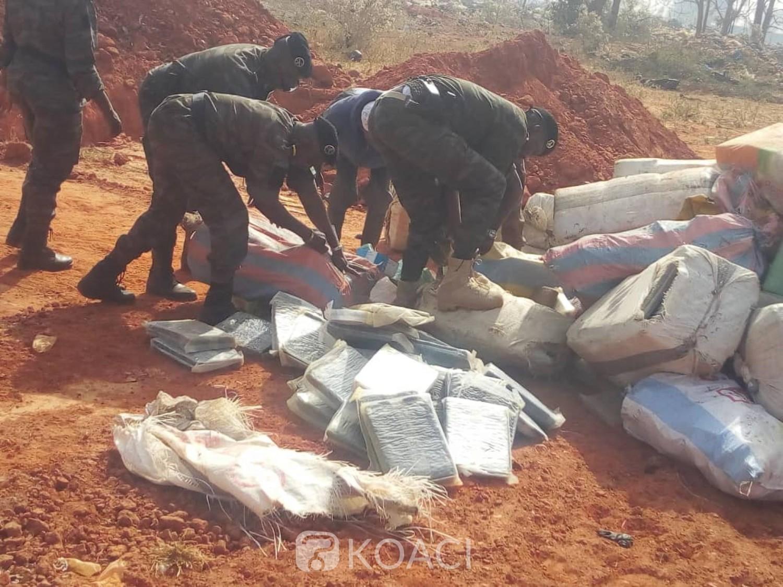 Burkina Faso : Plus de trois tonnes de drogue saisies par la douane à Bobo Dioulasso