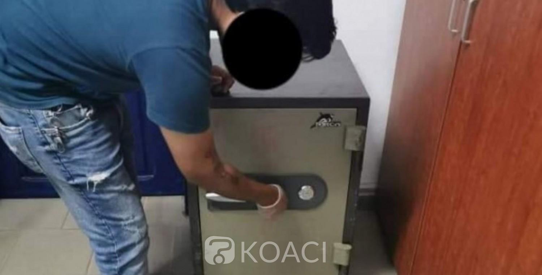 Côte d'Ivoire : Un coffre fort braqué à la Kalach avec plus de 12 millions, retrouvé