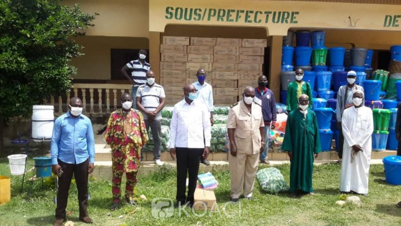Côte d'Ivoire : « Covid 19 et Ramadan », la Mutuelle des cadres soutient leurs parents