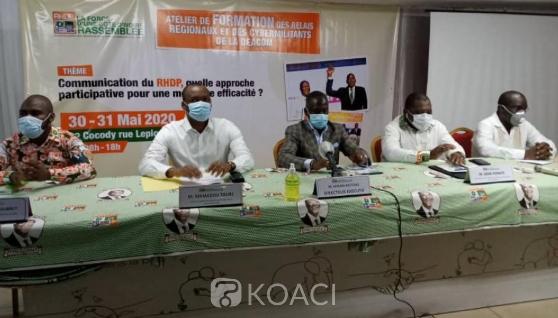 Côte d'Ivoire : Communication sur les réseaux sociaux, le RHDP annonce avoir renversé la tendance et prévient que « le parti au pouvoir ne fera pas de cadeaux à quelques adversaires que ce soit »