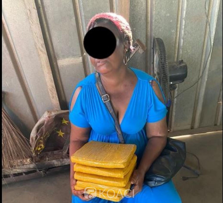 Côte d'Ivoire : Trafic de Drogue, une mère de quatre enfants interpellée