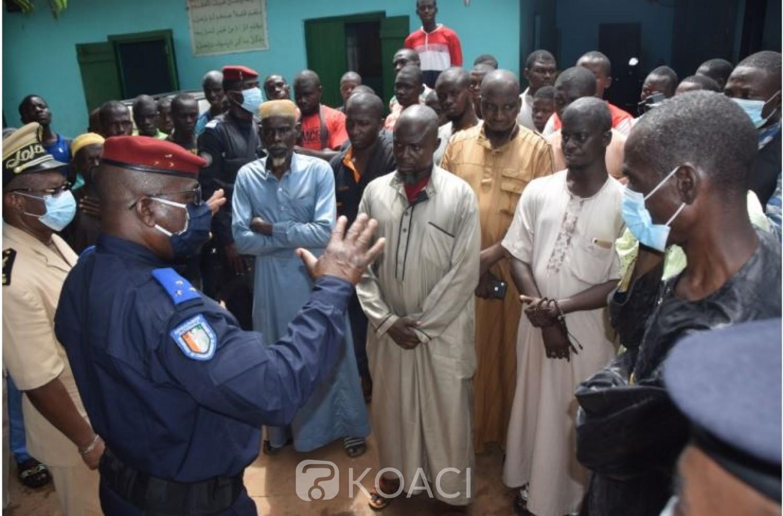 Côte d'Ivoire : Conflit autour d'une mosquée à Yorobodi, le Gnl Apalo annonce des poursuites contre les commanditaires  et auteurs des violences ayant fait  un mort