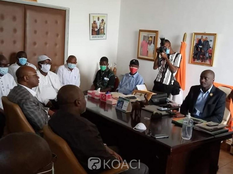 Côte d'Ivoire : Le candidat Idriss Diallo à la rencontre des clubs du Gôh promet rassembler et développer le football local