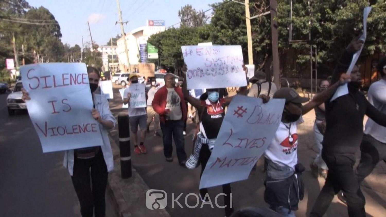 Kenya : Manifestations à Nairobi contre la mort de l'afro américain George Floyd