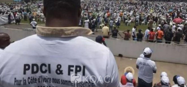 Côte d'Ivoire : Le PDCI et les partisans de Gbagbo demandent à leurs militants d'œuvrer désormais de concert sur le terrain