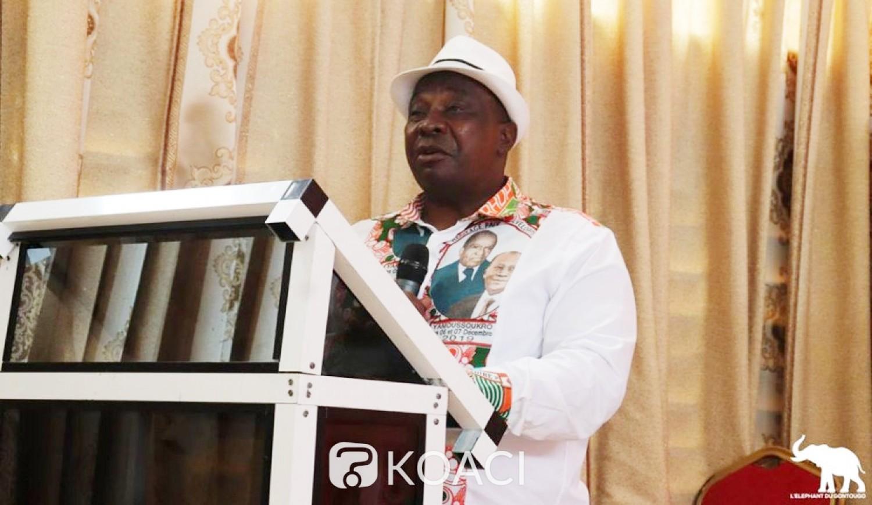 Côte d'Ivoire : Conditions pour espérer affronter Bédié à la Convention, pour Adjoumani, le PDCI est un parti sans vision