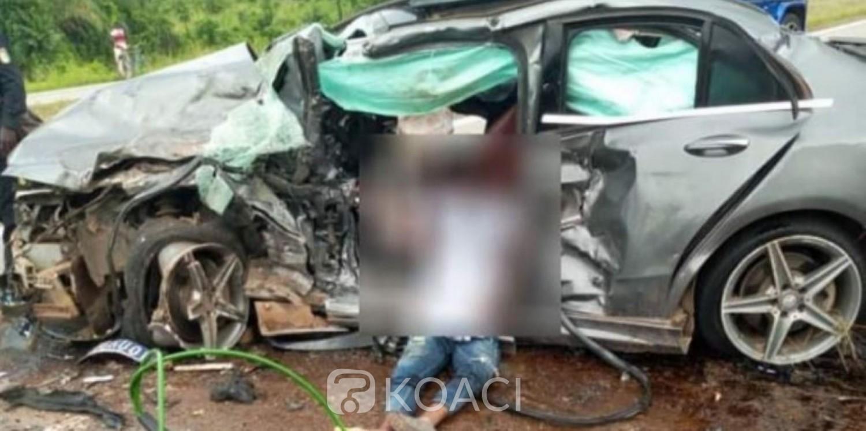 Côte d'Ivoire : Une collision entre deux véhicules fait 2 morts et 4 blessés graves sur l'autoroute du Nord