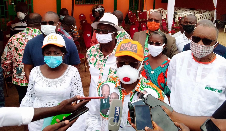 Côte d'Ivoire : Bouaké, pour gagner la présidentielle au premier tour,  « anticiper », la stratégie trouvée par le RHDP