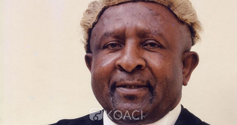 Cameroun : Décès de maitre Francis Sama Asanga, ancien bâtonnier de l'ordre des avocats à l'âge de 62 ans
