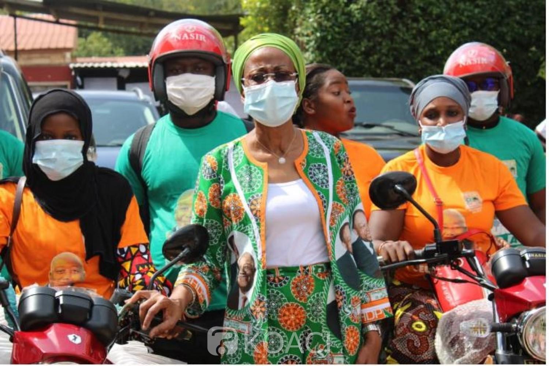 Côte d'Ivoire : Présidentielle 2020, Ly Ramata renforce la capacité de mobilité des femmes du N'Zi pour la victoire de Gon