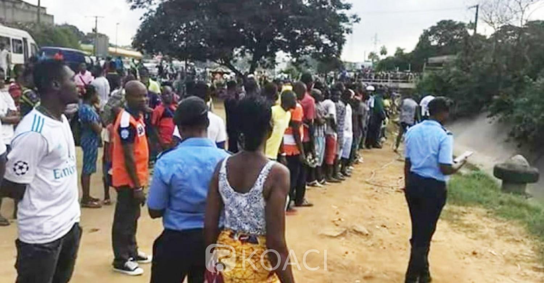 Côte d'Ivoire : Drame, à Adjamé 2 personnes emportées par les eaux