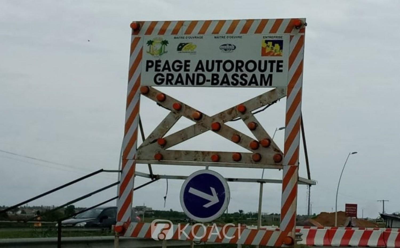 Côte d'Ivoire : Autoroute de Grand-Bassam, les travaux du poste à péage avancent