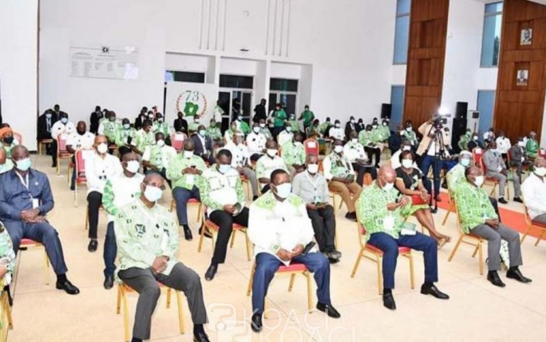 Côte d'Ivoire : Convention du PDCI, la réception des dossiers de candidature à partir de mercredi, le candidat à la présidentielle connu le 29 juillet