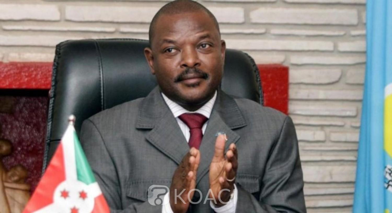 Burundi : Le Président Pierre Nkurunziza décède d'un AVC