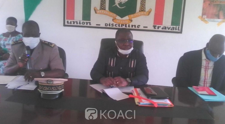 Côte d'Ivoire : Ferké, contre les faux documents dans le processus d'enrôlement, le superviseur de la CEI met en garde