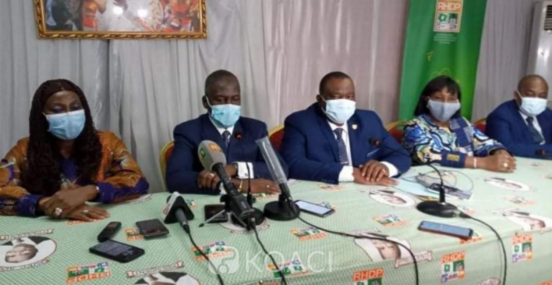 Côte d'Ivoire :  RHDP, Adama Bictogo aux coordonnateurs régionaux: «L'élection du 31 octobre se joue à partir de demain, à l'occasion de l'inscription sur le fichier électoral »