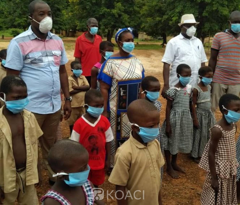 Côte d'Ivoire : Lutte contre la Covid-19, des milliers d'élèves et enseignants équipés