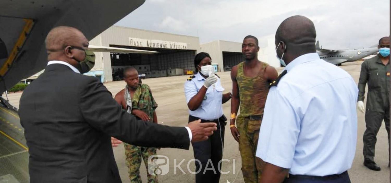 Côte d'Ivoire : Attaque du poste mixte armées-gendarmerie à Kafolo, les blessés accueillis à Abidjan par le Ministre de la Défense