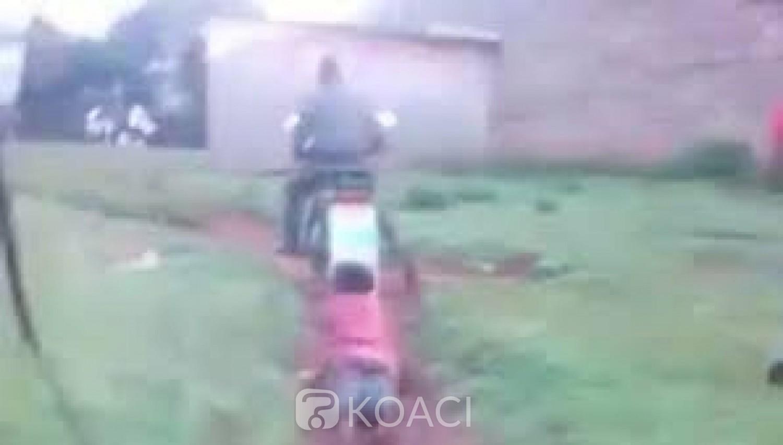 Kenya : Trois policiers arrêtés pour avoir traîné une femme à l'arrière d'une moto