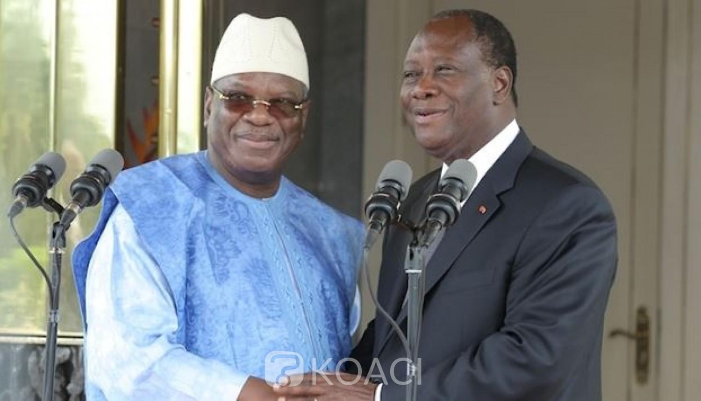 Côte d'Ivoire-Mali : Attaque de Kafolo, IBK adresse ses condoléances aux ivoiriens et appelle à un « front commun »