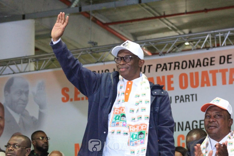 Côte d'Ivoire : Élection présidentielle, ils remettent 50 millions de FCFA au Directoire du RHDP pour la caution de Gon Coulibaly