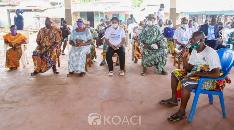Côte d'Ivoire : Dabou, plus de 180 enfants et leurs parents sensibilisés sur les mesures barrières
