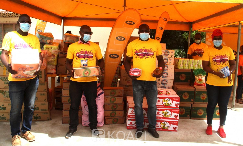 Côte d'Ivoire : Covid-19, la pouponnière de Dabou soulagée par les employées de MTN