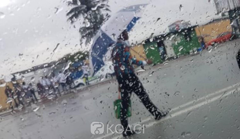 Côte d'Ivoire : La pluie déferle sur Abidjan et guérit 134 malades du Coronavirus