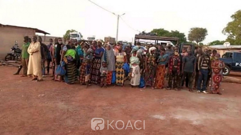 Côte d'Ivoire : Ouangolo, pénétrant clandestinement en terre ivoirienne, 50 voyageurs refoulés vers le Burkina