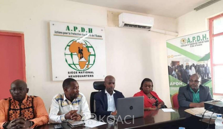 Côte d'Ivoire : Attaques de Gbéya et Kafolo, l'APDH parle de « failles » du système sécuritaire
