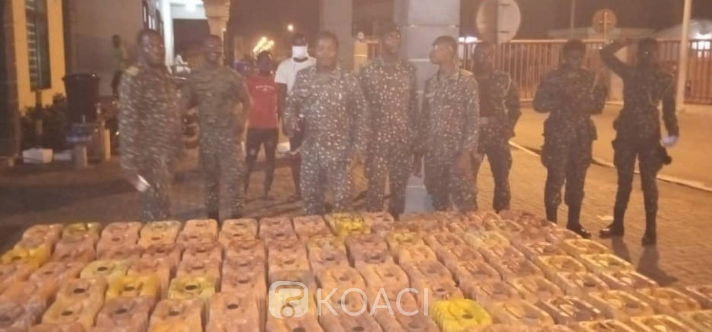 Ghana-Togo :  Carburant de contrebande saisi à Aflao, les trafiquants en fuite au Togo