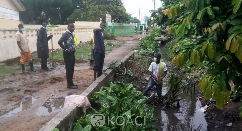 Côte d'Ivoire : Grand-Bassam, quand l'indiscipline des populations fait craindre des risques d'inondation en cette saison des pluies