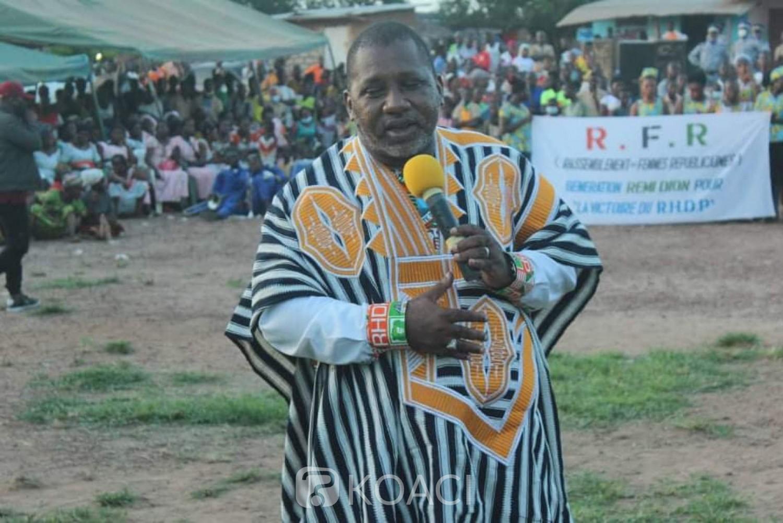 Côte d'Ivoire : Depuis Logoualé Sidiki Konaté invite Mabri à revenir à la maison « sa place est au RHDP »