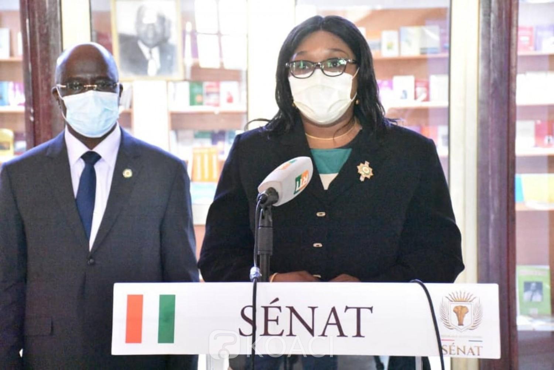 Côte d'Ivoire : Le Sénat adopte 11 projets de loi en plénière dont celui  « portant régime juridique de la communication publicitaire »