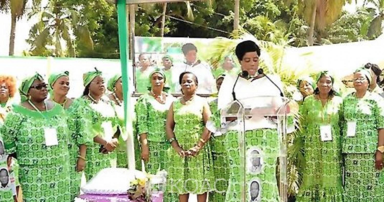 Côte d'Ivoire : Aka Véronique : « Notre souhait, c'est que le Président Bédié soit notre candidat »