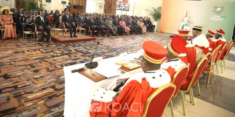 Côte d'Ivoire : Conseil Constitutionnel, Alassane Ouattara nomme de  nouveaux conseillers