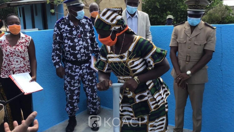 Côte d'Ivoire : Niakara, hors d'usage depuis 4 ans, la pompe hydraulique du village de Longo réhabilitée, les populations renouent avec l'eau potable