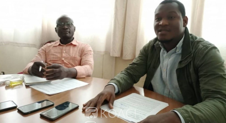 Côte d'Ivoire : Plateau, accusations contre le président de la CEI-2, Sasso Joël de la jeunesse du RHDP, formel : « la vérité c'est que Camara Oumar empêche leur tricherie »