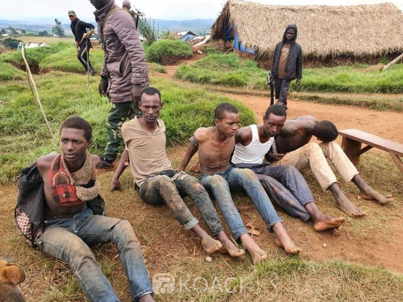 RDC : L'armée capture et expose 20 miliciens Maï-Maï et ADF dont des ougandais