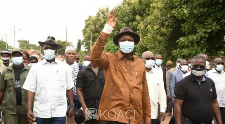 Côte d'Ivoire : Depuis Danané, Mabri promet de ne pas décevoir les ivoiriens relativement à la vie de la Nation