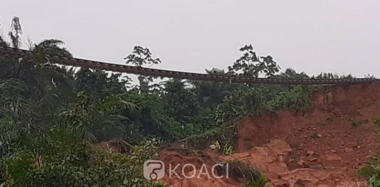 Côte d'Ivoire : Voie ferrée endommagée à Anyama, la Sitarail a déployé ses équipes techniques sur le terrain pour la restaurer dans les meilleurs délais