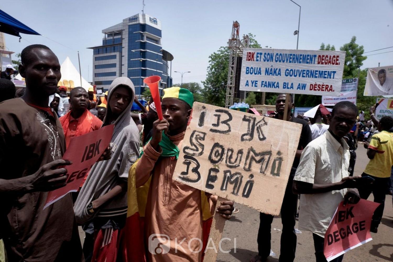 Mali : A Bamako, des dizaines de milliers de maliens ont «encore» manifesté pour la démission d'IBK
